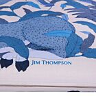 "Mythical Animals Silk Cushion Cover 18"" - Blue"