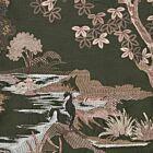 "Himmapan Forest Cushion Cover 18"" - Dark Green"