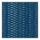 Rice Terraces Handwoven SIlk Pocket Square - Blue