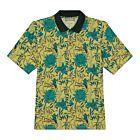 Dahlia Cotton Polo Shirt - Yellow/Green