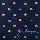 Elephant Cotton Handkerchief - Navy