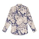 Blooming Cotton Shirt - Blue/White