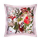 "Cattleya Silk Cushion Cover 18"" - Baby Pink"