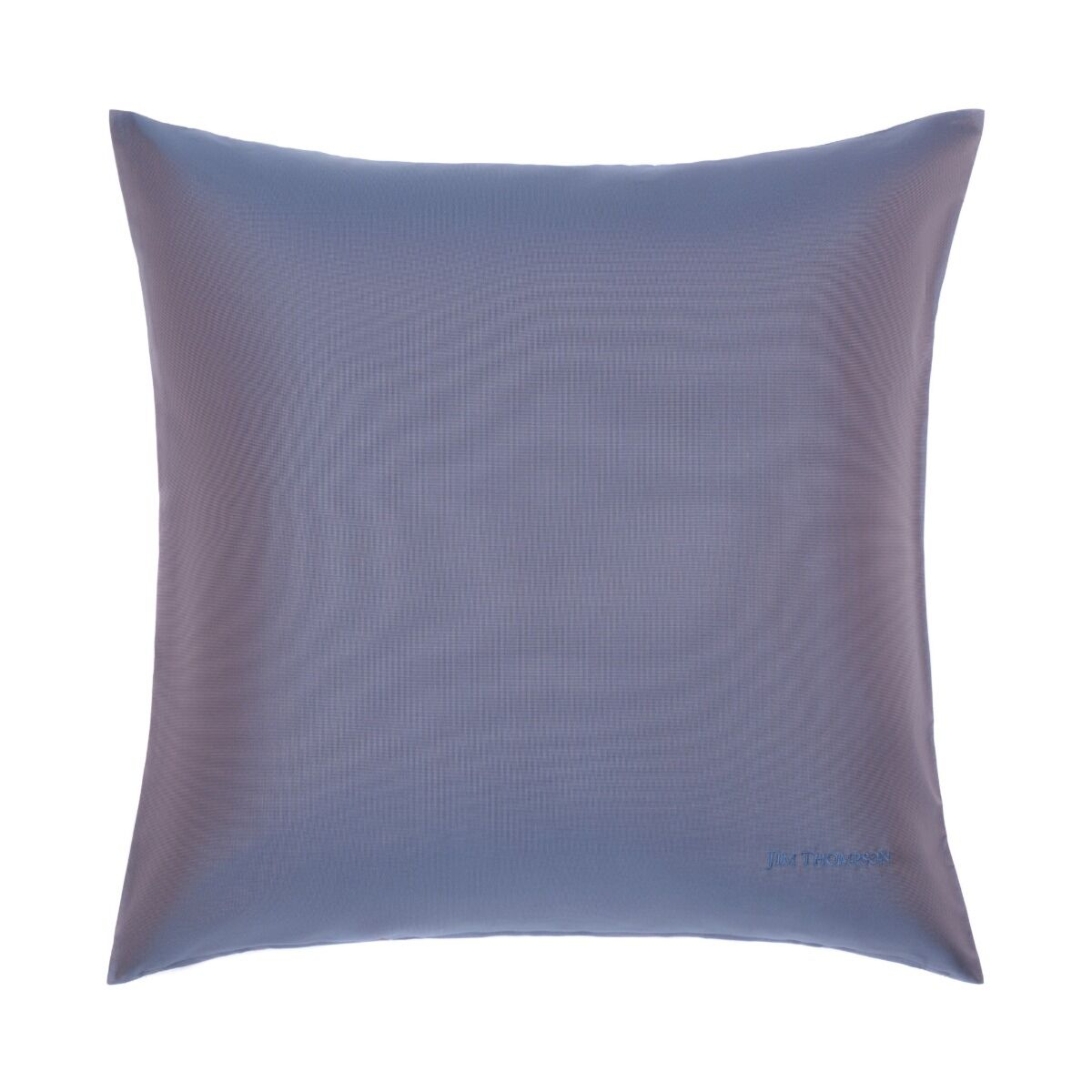 """Double Color Silk Cushion Cover 18"""" - Blue Lilac"""