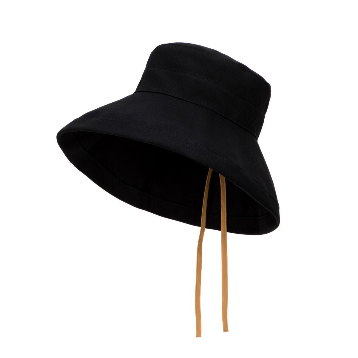 Canvas Spring Hat - Black